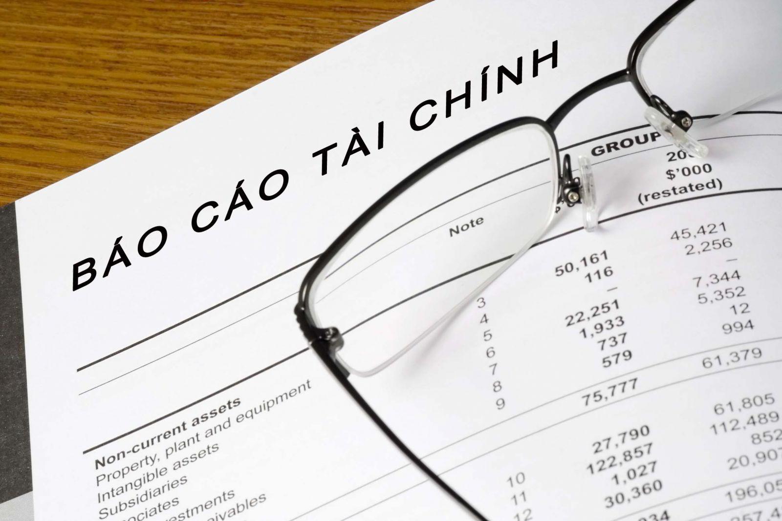Những vấn đề cần lưu ý khi lập Báo cáo tài chính mới nhất 2015