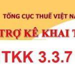 Tải phần mềm kê khai thuế HTKK 3.3.7