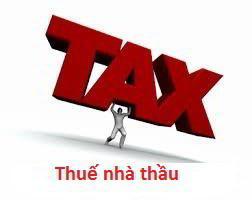 Thuế nhà thầu đối với khoản lãi vay nước ngoài