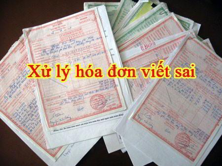Cách xử lý hóa đơn ghi sai thuế suất, tiền thuế, đơn giá, thành tiền