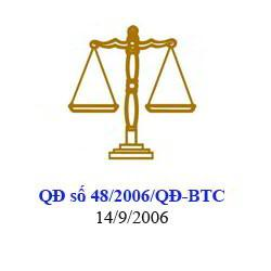 Chuyển đổi từ chế độ kế toán theo QĐ 15/2006/QĐ-BTC sang QĐ 48/2006/QĐ-BTC