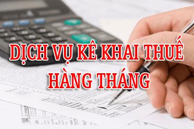 Dịch vụ kê khai thuế giá rẻ tại thành phố Hồ Chí Minh